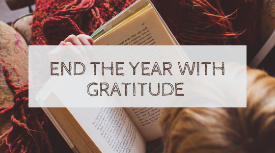 End the year with gratitude