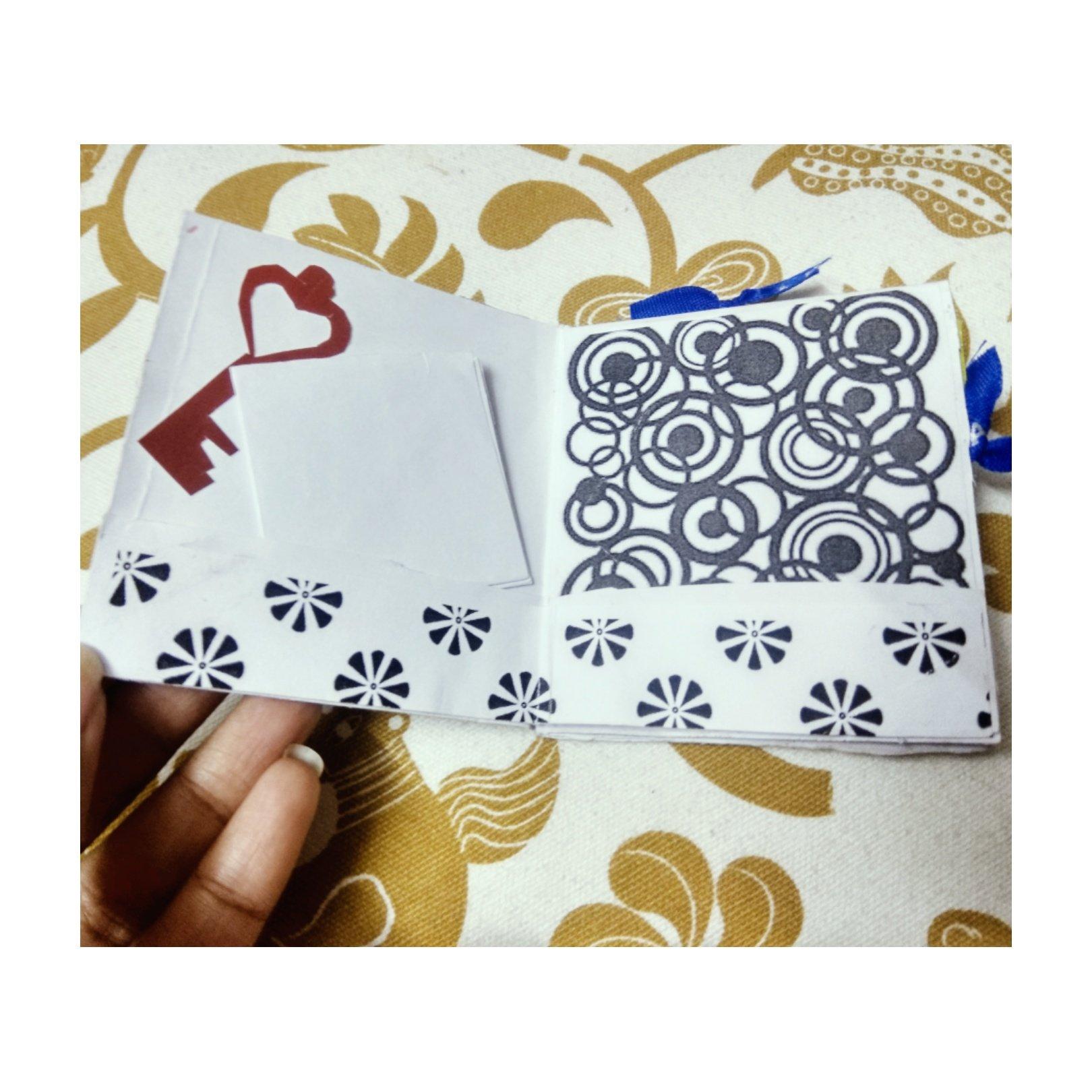 DIY Mini pocket greeting card